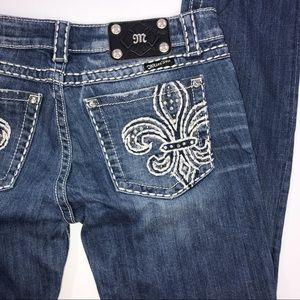 Miss Me Skinny Bling Jeans 30 x 31